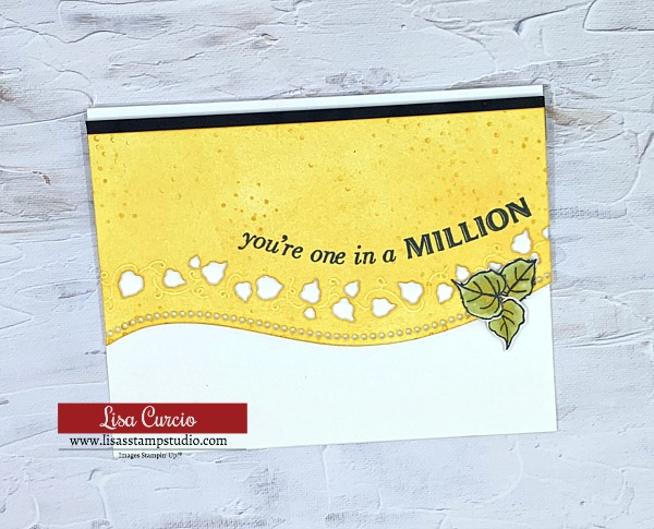 This card shows you that the Curvy Bundle by Stampin' Up! works beyond Christmas!