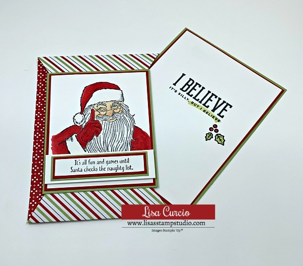 A Santa card that's fun and festive for all