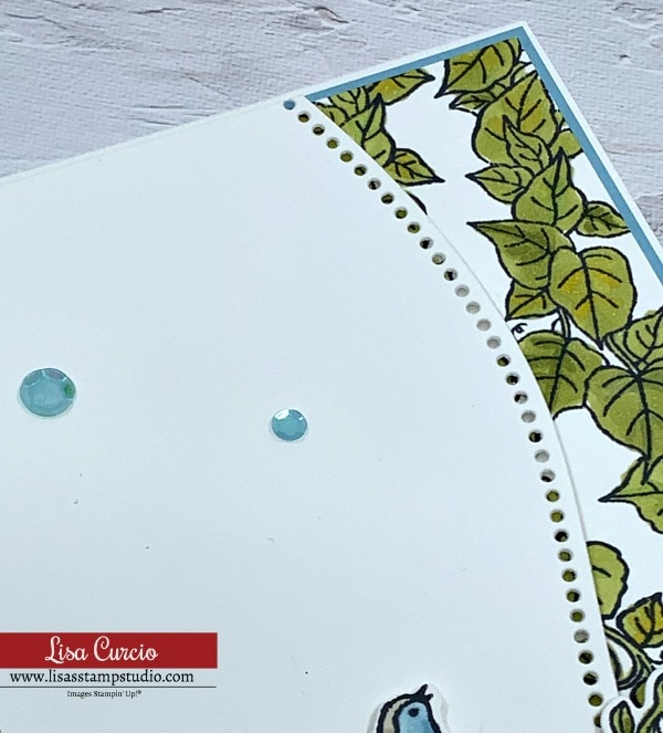 Pretty up your card making curve appeal with these embellishments in blue