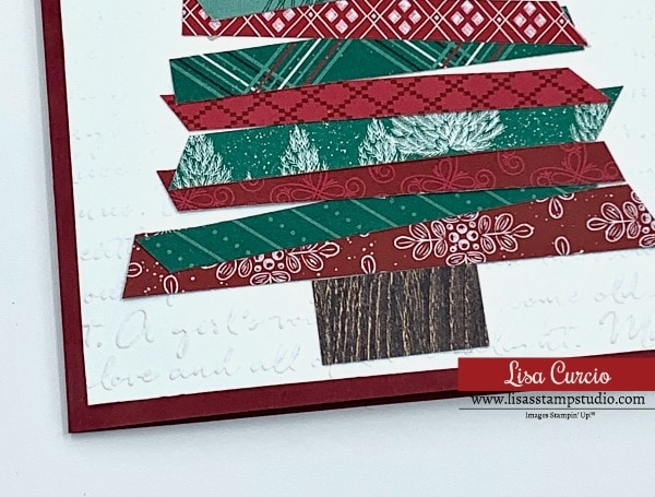 See how the embossing folder adds a special touch to your DIY Christmas cards