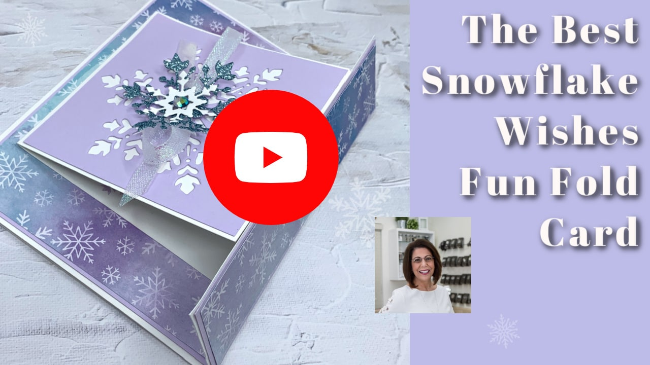 The best snowflake wishes by Stampin' Up! video tutorial