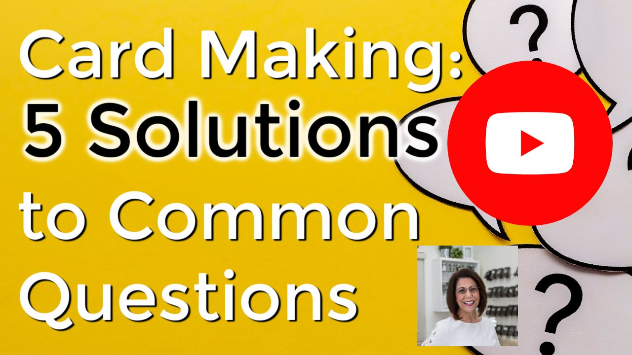 Stamping cards and 5 solutions to common questions