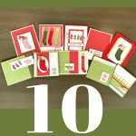 Know How to Make 10 Christmas Cards Fast?