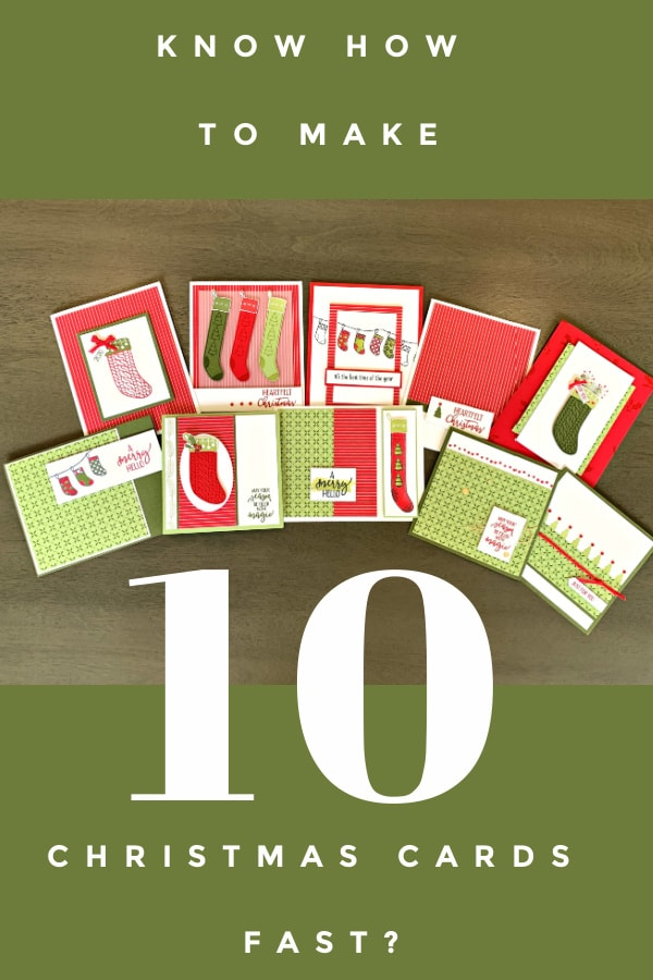 Make 10 Christmas Cards Fast