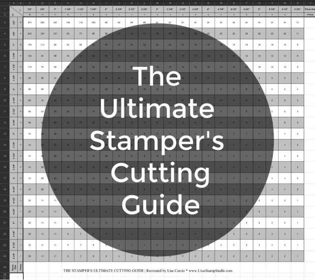 Stamping Cards: Free Cutting Guide You Can Download