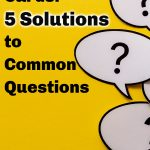 Stamping Cards: 5 Solutions to Common Questions