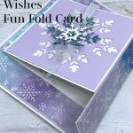 The Best Snowflake Wishes Fun Fold Card