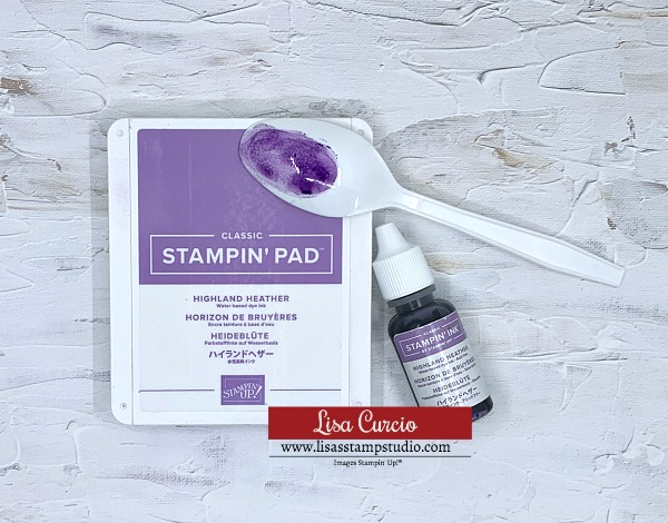 Stamping Cards Tip 2 Learn how to re-ink your stamp pads