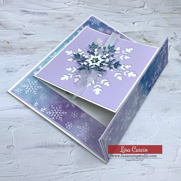 The Best Snowflake Wishes You Can Send in a Fun Fold Greeting Card