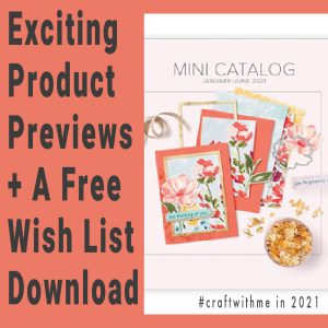 Exciting Product Previews + A Free Wish List Download
