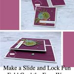 Make a Slide and Lock Fun Fold Card the Easy Way