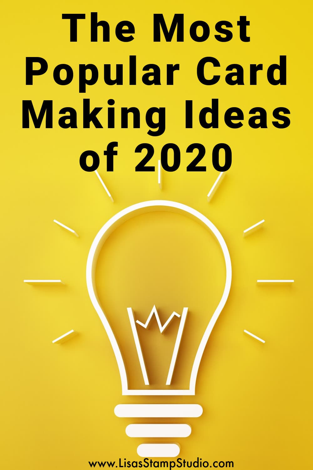 Popular card making ideas of 2020