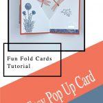 Fun Fold Cards Tutorial   An Easy Pop Up Card