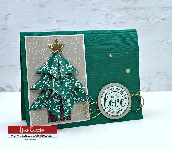 I Found a Fantastic Way to Make an Origami Christmas Tree Card