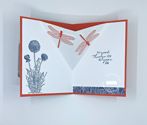 Pop Up V-Fold Card is perfect to make as a birthday card