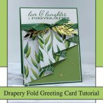 Drapery Fold Greeting Card Tutorial