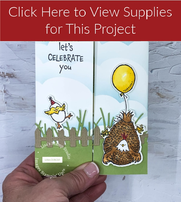 Click here for Floating Gate Fold Card #1 Supply List