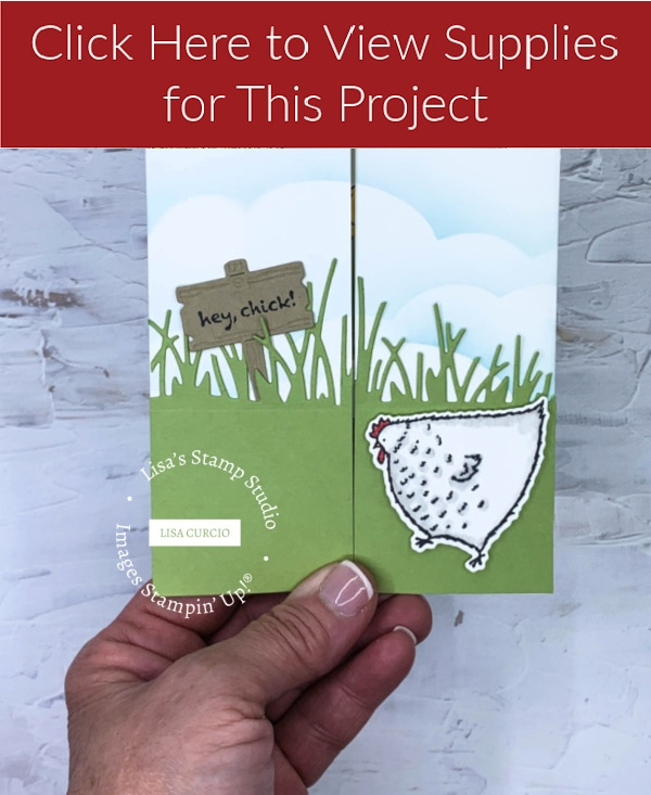 Click here for Floating Gate Fold Card #2 Supply List