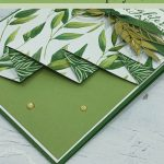 How to Make a Fabulous Greeting Card with a Drapery Fold