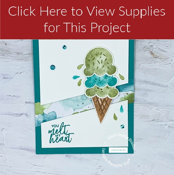 View supply list for ice cream card
