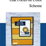 Card Making Ideas That Focus on Color Scheme