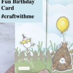 Let's Make a Fun Birthday Card - #craftwithme