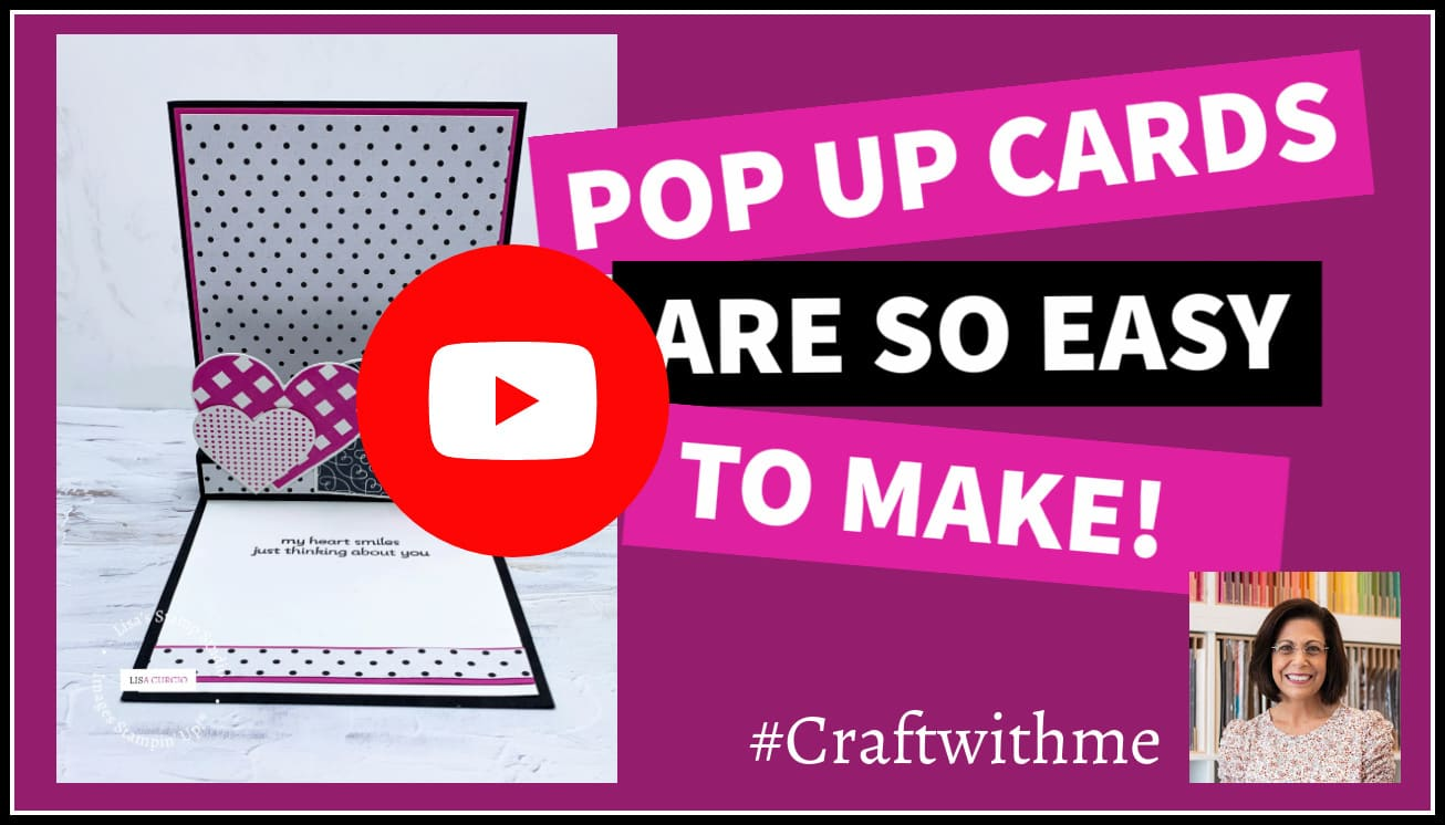 Pop up cards are so easy to make; follow along with this tutorial