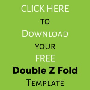 Download your free double z fold card