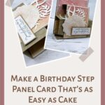 Make a Birthday Step Panel Card That's as Easy as Cake