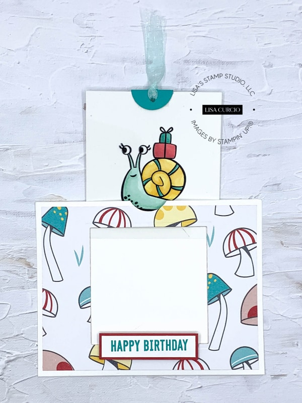 What a better time than a birthday to make a magic slider card?