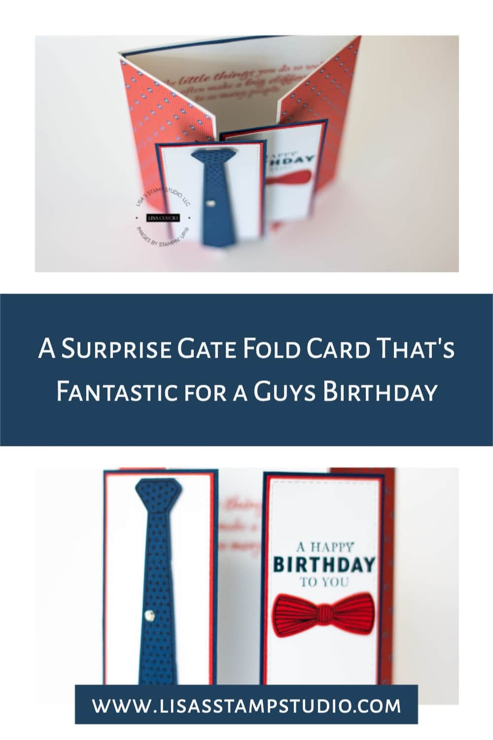 Save this surprise gate fold card to your favorite Pinterest board