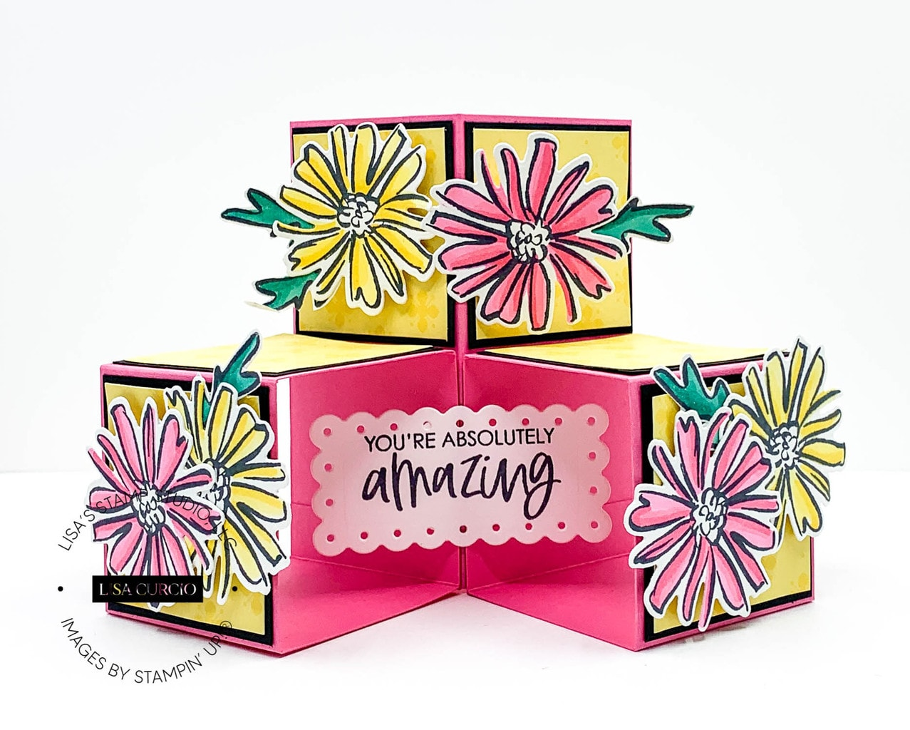How to Make a Triple Cube Pop Up Card with Mind Blowing Ease