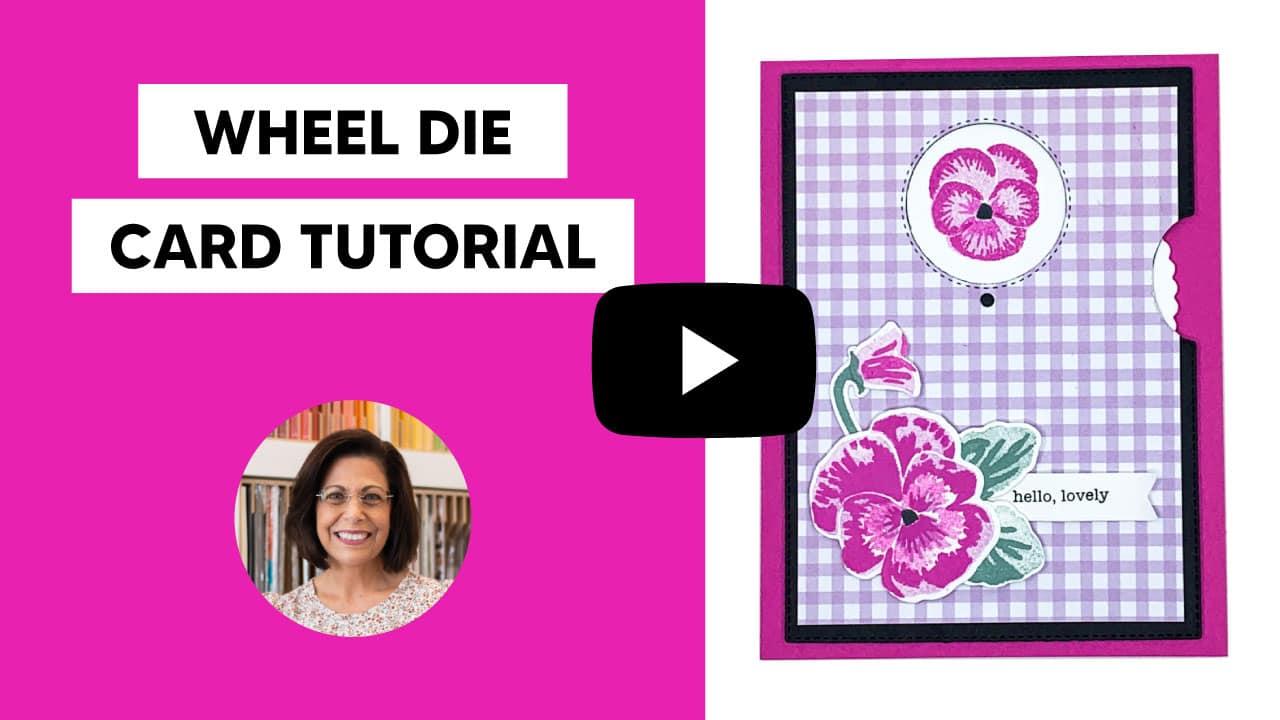 make a birthday card tutorial