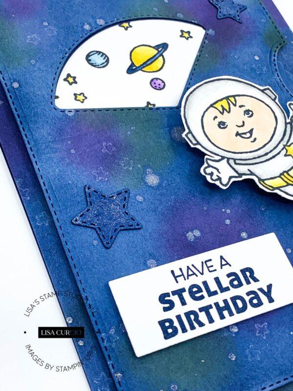 making a birthday card