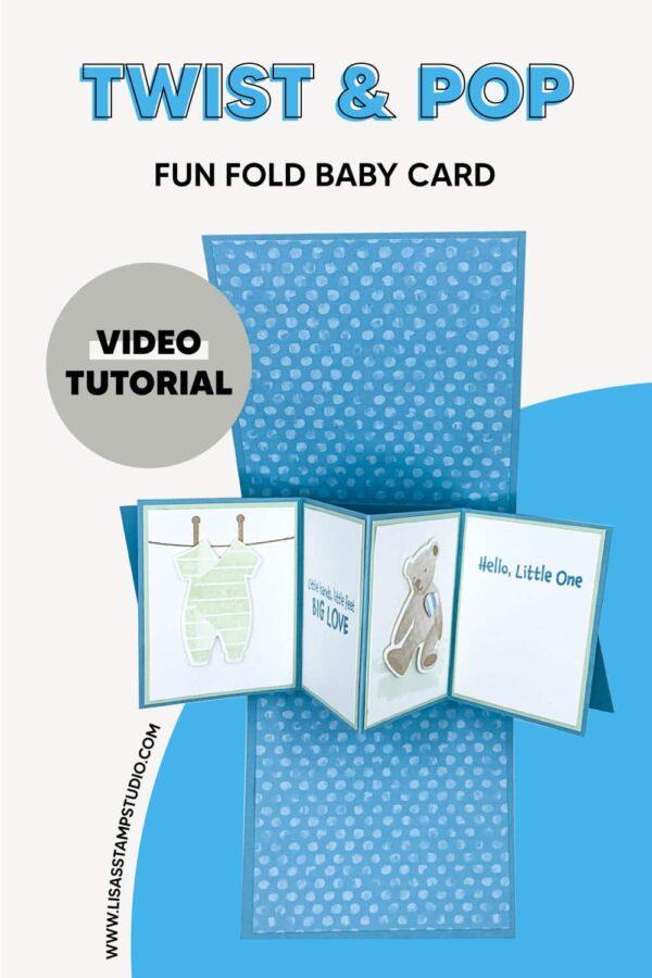 fun fold baby card