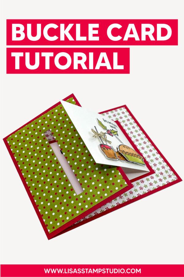 buckle card tutorial