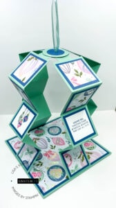 How to Make a Fun & Easy Pull Up Accordion Card